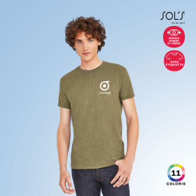 TEE-SHIRT HOMME PERSONNALISABLE 'IMPERIAL FIT' 190 GR/M²