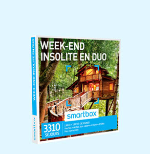 SMARTBOX WEEK END INSOLITE EN DUO