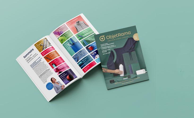 Votre catalogue imprimé dans le respect de l'environnement